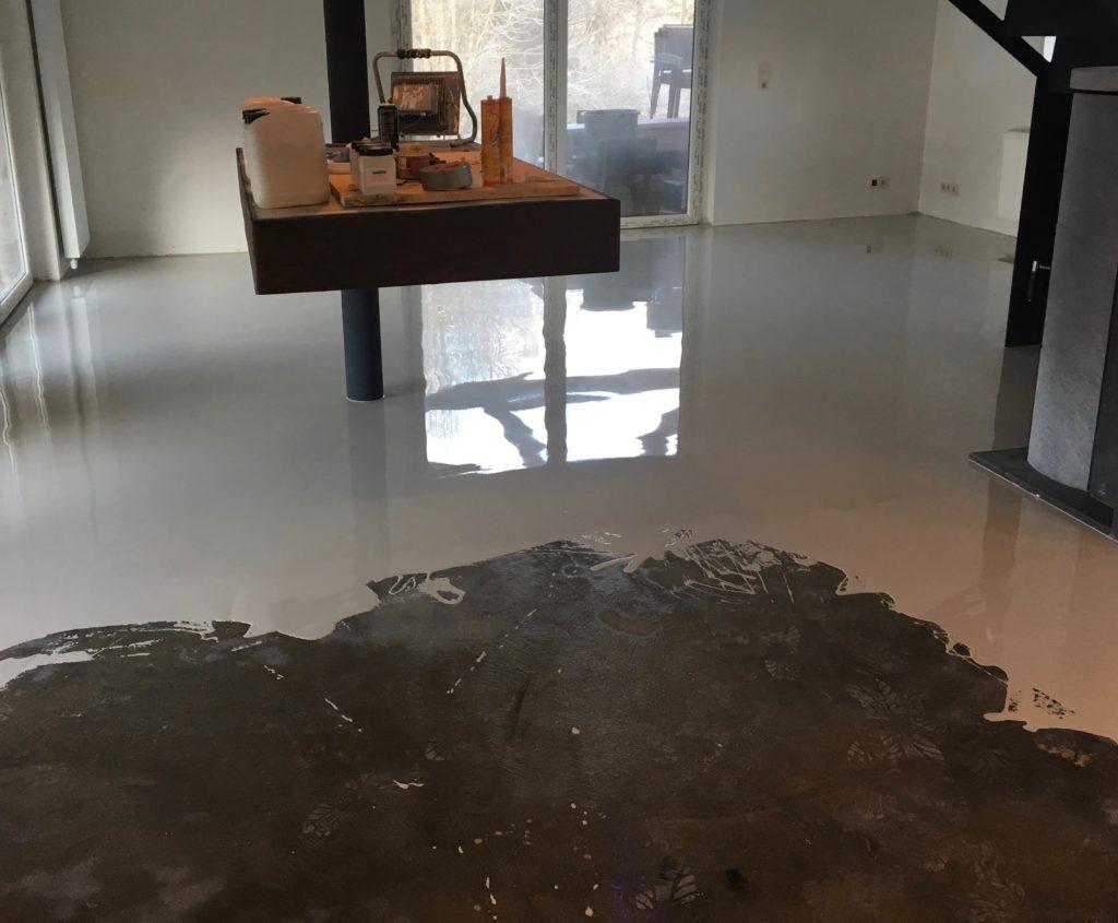 Resine Epoxy Sol Interieur sols coulés | confort intérieur | résine liquide | peinture